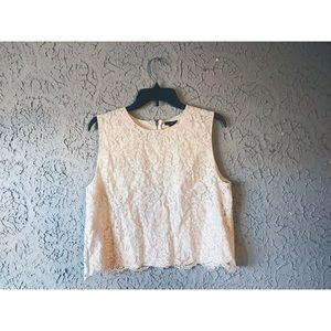 Darling Cropped Embroidered Top